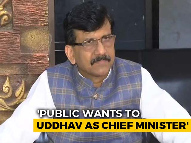 Video : Shiv Sena Chief Minister For 5 Years: Sanjay Raut Amid Talks With NCP-Congress