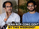 Video : Maharashtra Government On Weekend? Sena, NCP, Congress Hint