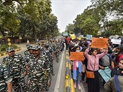 "JNU Protest: Hundreds March In Delhi To ""Make Education Affordable To All"""
