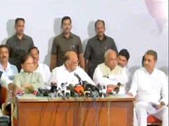 कांग्रेस-NCP की बैठक में सरकार गठन पर नहीं हुआ कोई फैसला- चर्चा के बाद उठाएंगे कोई कदम