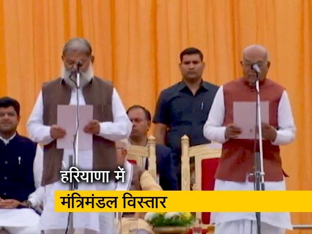 Videos : भाजपा-जेजेपी की गठबंधन सरकार में शामिल हुए कई चेहरे