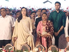 Mukesh Ambani, Family On Stage As Uddhav Thackeray Took Chief Minister's Oath