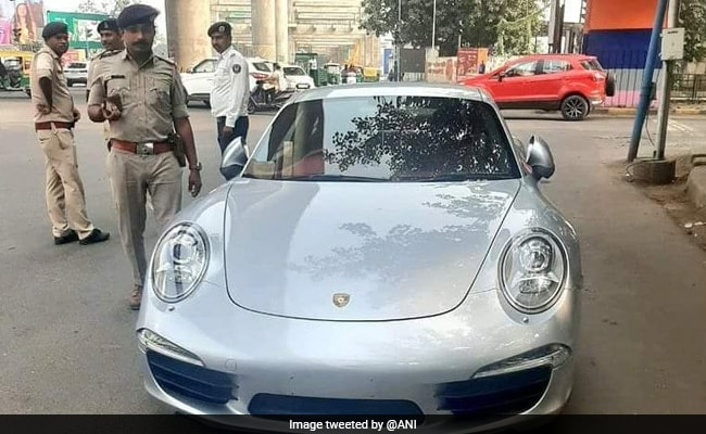 Porsche Car Owner Drives Without Documents, Slapped With Rs 9.8 Lakh Fine