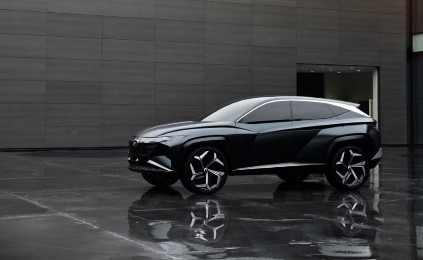 The Hyundai Vision T Concept is powered by a plug-in hybrid powertrain