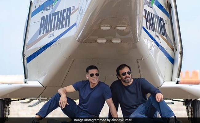 Akshay Kumar And Helicopter: A Stunning Glimpse Of The 'Last Stunt Of Sooryavanshi'
