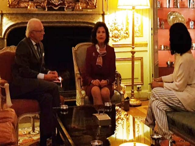 Video : Sweden's Queen Silvia Speaks To NDTV About Fake News