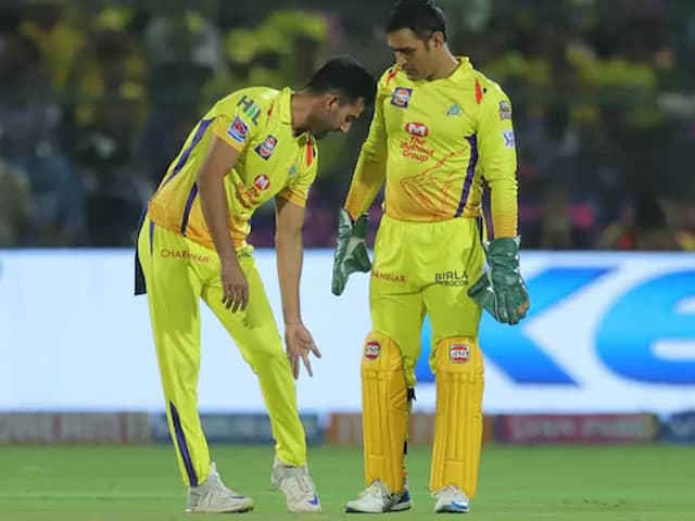 MS Dhoni Scolding Deepak Chahar During IPL Have Helped Him Learn, Says Bowler