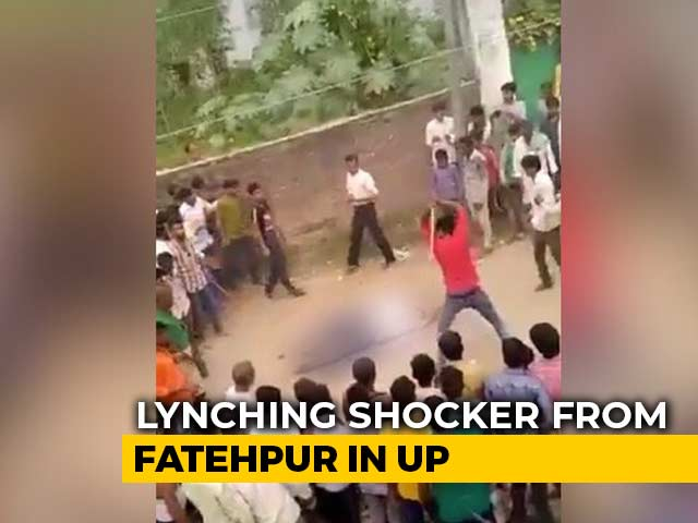 Video : UP Man, Accused Of Murdering Wife, Beaten To Death By Villagers