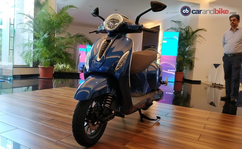 The Bajaj Chetak electric scooter is on sale in India in Pune and Bengaluru via KTM outlets