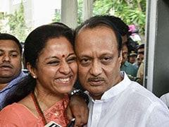 With A Hug And A Smile, Supriya Sule Welcomes Ajit Pawar