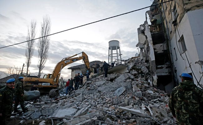 At least 14 killed, 325 injured, as 6.4-magnitude earthquake strikes Albania