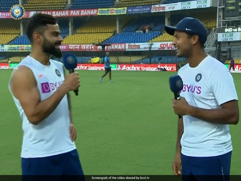 India vs Bangladesh: Mayank Agarwal, Virat Kohli Talk About Fitness, Mindset And Putting Team First. Watch
