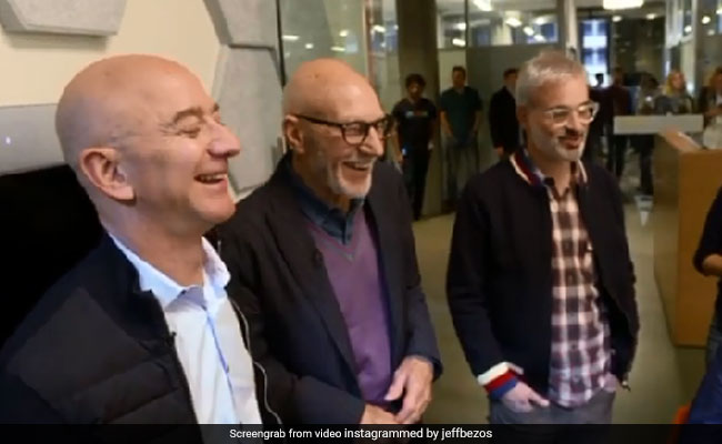 Alexa Delights Jeff Bezos, Patrick Stewart With Jokes. Watch
