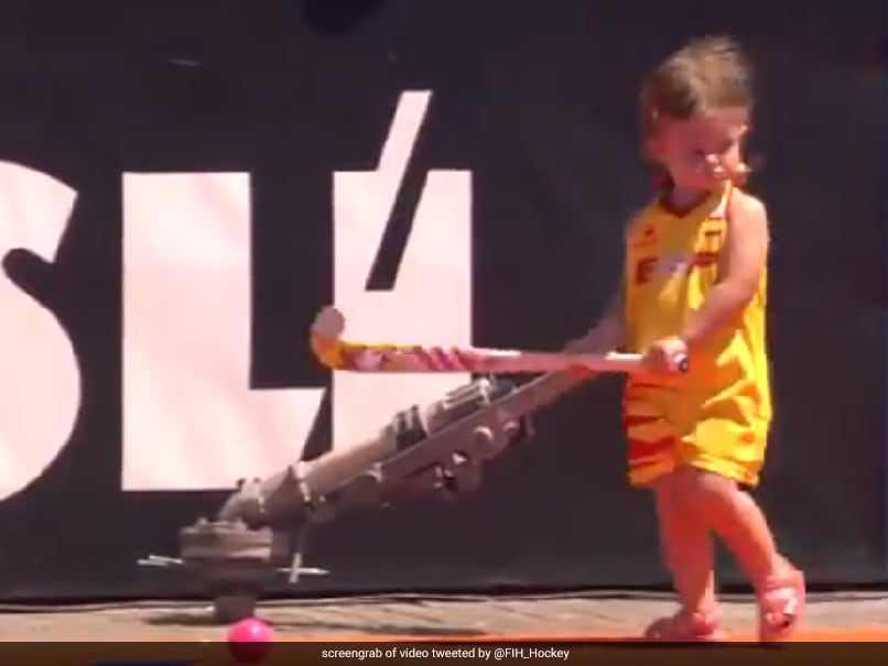 To Celebrate World Childrens Day, International Hockey Federation Tweets Adorable Video. Watch