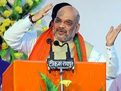 "Arvind Kejriwal ""Favoured <i>Tukde-Tukde</i> Gang"": Amit Shah At Delhi Event"