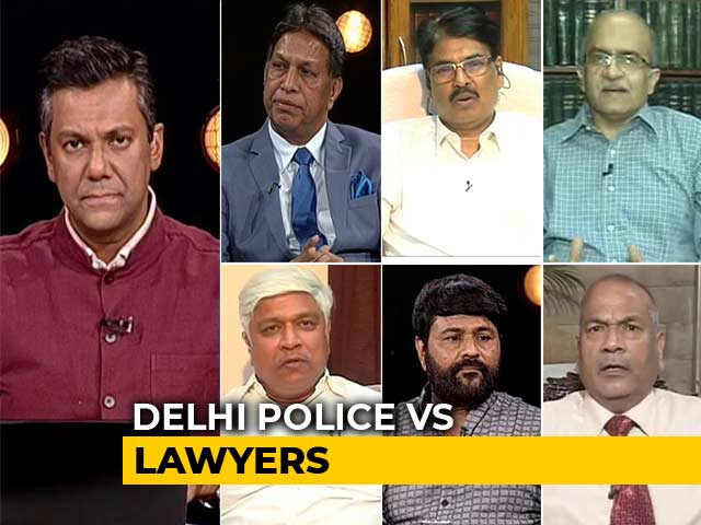Video : Delhi Policemen Hold Unprecedented Protests After Clash With Lawyers