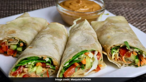 Watch: How To Make Street-Style Veg Kathi Roll At Home (Recipe Video Inside)