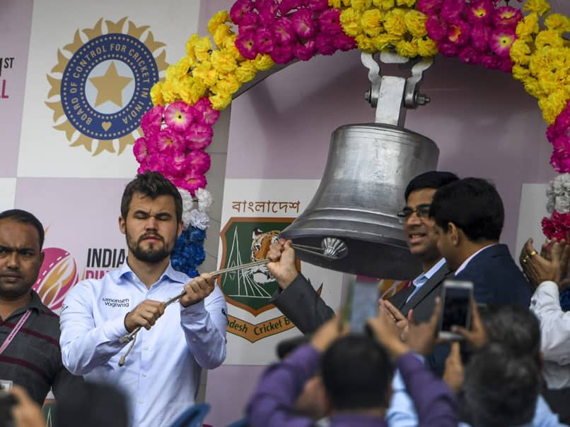 """Stood There, Looked Stupid"": Magnus Carlsen Shares Experience Of Ringing Ceremonial Bell In Day-Night Test"