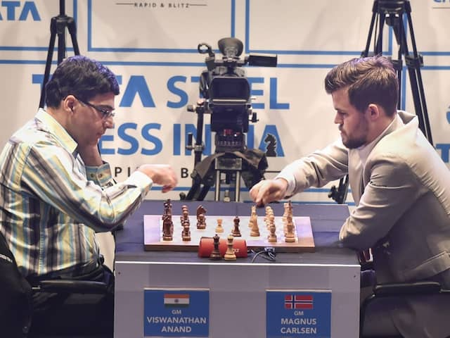 Tata Steel Rapid And Blitz Chess: Viswanathan Anand Falters While Magnus Carlsen Reigns Supreme