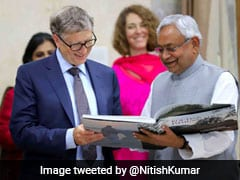 "What Nitish Kumar Said That ""Impressed"" Bill Gates In Patna"