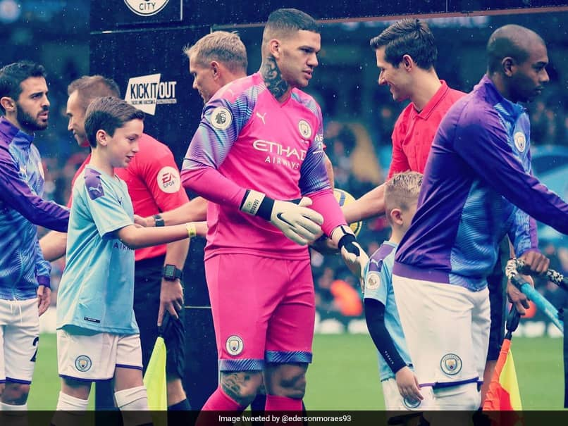 Ederson To Miss Manchester Citys Match Against Liverpool With Injury