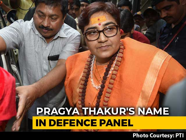 Video : Row Over Malegaon Blast Accused Pragya Thakur's Name In Defence Panel