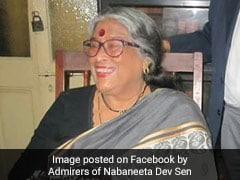 Bengali Poet Nabaneeta Dev Sen Dies At 81