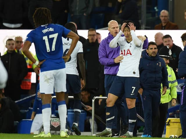 Premier League: Football Association Overturns Son Heung-Mins Red Card For Andre Gomes Challenge