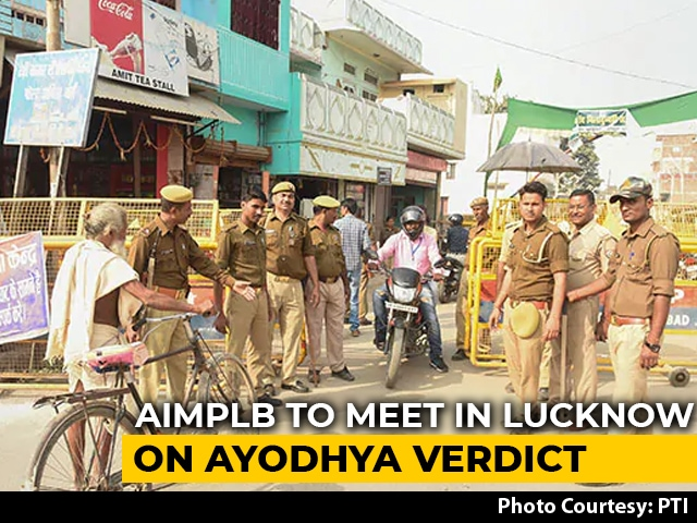 Video : Muslim Board To Hold Review Meet On Ayodhya Order Today