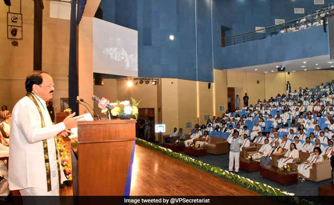 Vice President Inaugurates JNU's 3rd Convocation