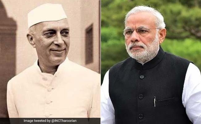 पंडित नेहरू की जयंती पर पीएम मोदी ने दी श्रद्धांजलि, शांतिवन जाकर राहुल ने दी पुष्पांजलि
