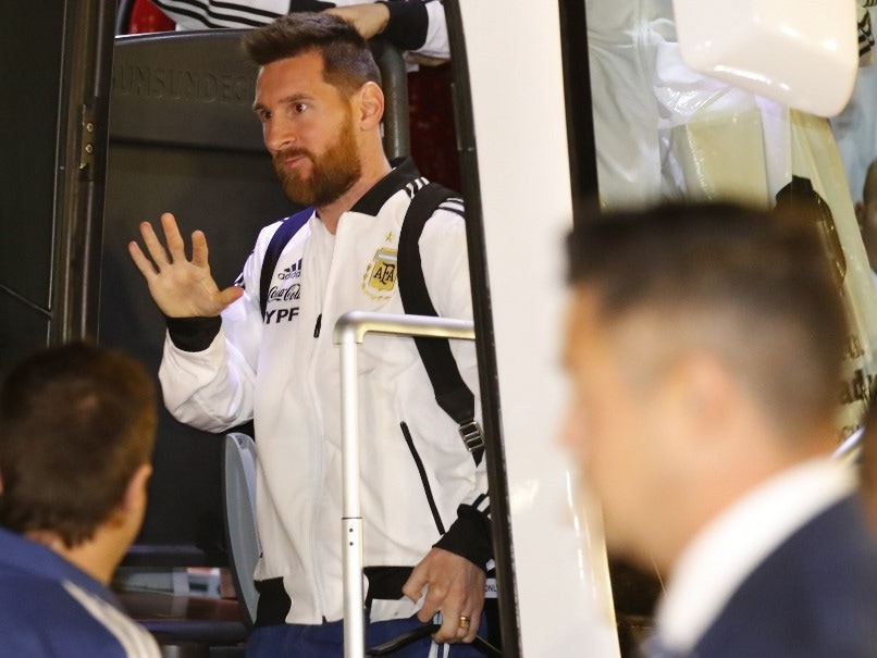 Lionel Messi, Argentina Teammates Arrive In Israel For Uruguay Friendly