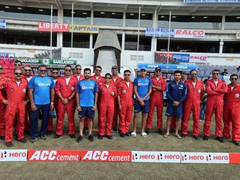 Team India meet with IAएF Airobatic Team