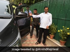 Arvind Kejriwal Carpools With Colleagues On Day 1 Of Odd-Even