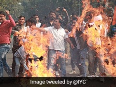 Youth Congress Protests Over Maharashtra Government Formation Near Parliament House