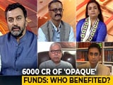 Video : Rs. 6000-Crore Mystery Of Electoral Bonds