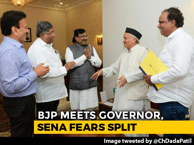 Video : BJP Meets Governor, Sena Moves MLAs To Hotel, Maharashtra Waits