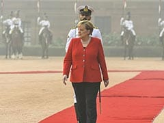 """Whoever Looked At Pollution In Delhi Yesterday..."": Angela Merkel Pitch"