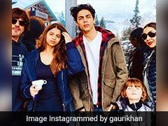 शाहरुख खान की फैमिली फोटो हुई वायरल, तो अबराम खान की क्यूटनेस पर यूं अटकीं सबकी निगाहें
