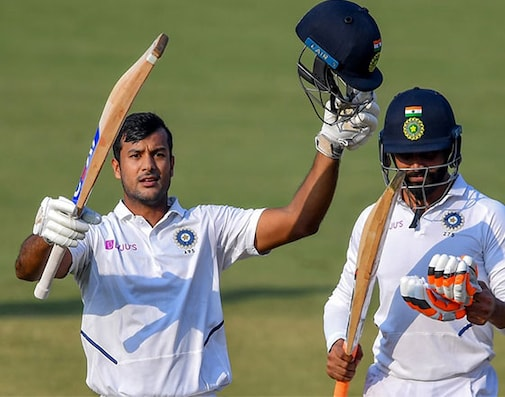 Mayank Agarwal's Batting Masterclass Puts India On Top In 1st Test