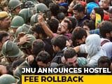 "Video : JNU Announces ""Major Rollback"" In Hostel Fee Hike Amid Students' Protests"