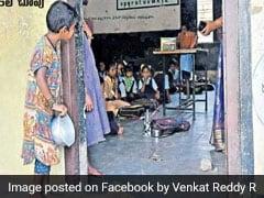 Viral: खाली कटोरे के साथ क्लासरूम में झांक रही थी बच्ची, स्कूल ने किया ऐसा काम...