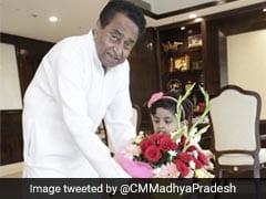 दोनों हाथों से लिखती हैं 3 साल की ये बच्ची, बनाया रिकॉर्ड, CM कमलनाथ ने की जमकर तारीफ