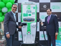 MG Motor India Installs First Fast Charging Station For EVs In Gurugram