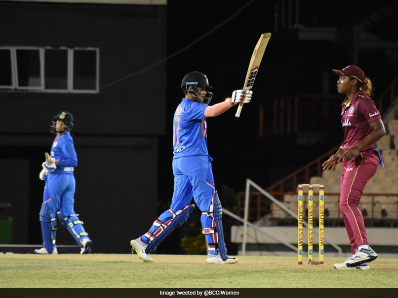 Shafali, Smriti Secure India's 84-run Win over WI in First T20I