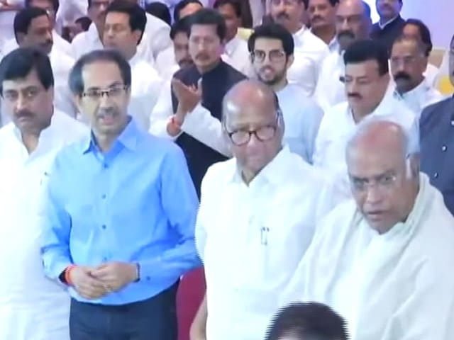 Video : Uddhav Thackeray To Take Oath As Maharashtra Chief Minister And Other Top Stories