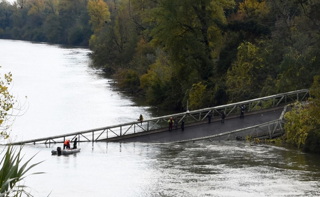 Girl Killed, Several Missing As River Bridge Collapses In France