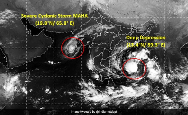 Cyclone Bulbul Brews In Bay Of Bengal, 15 Districts In Odisha On Alert