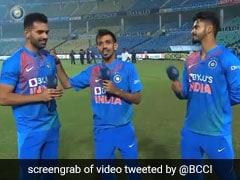 """Bade Besharam Aadmi Ho"": Yuzvendra Chahal Trolls Hat-Trick Hero Deepak Chahar. Watch"