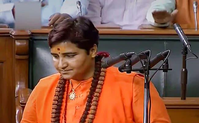 """If She Sets Foot..."": Congress MLA Warns Pragya Thakur Amid Godse Row"